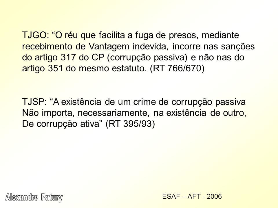 TJSP: A existência de um crime de corrupção passiva
