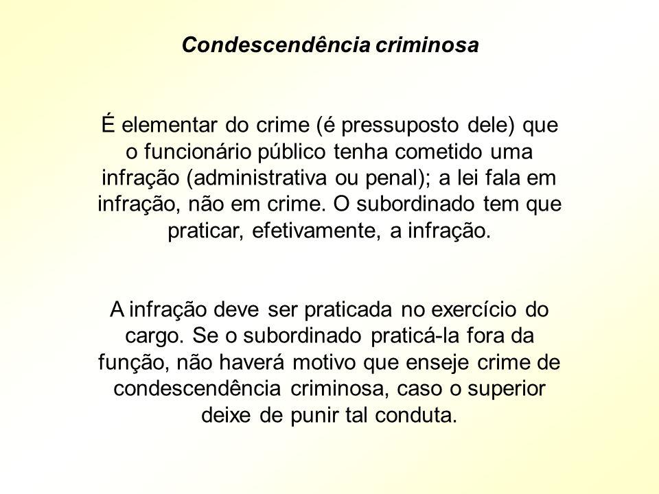 Condescendência criminosa