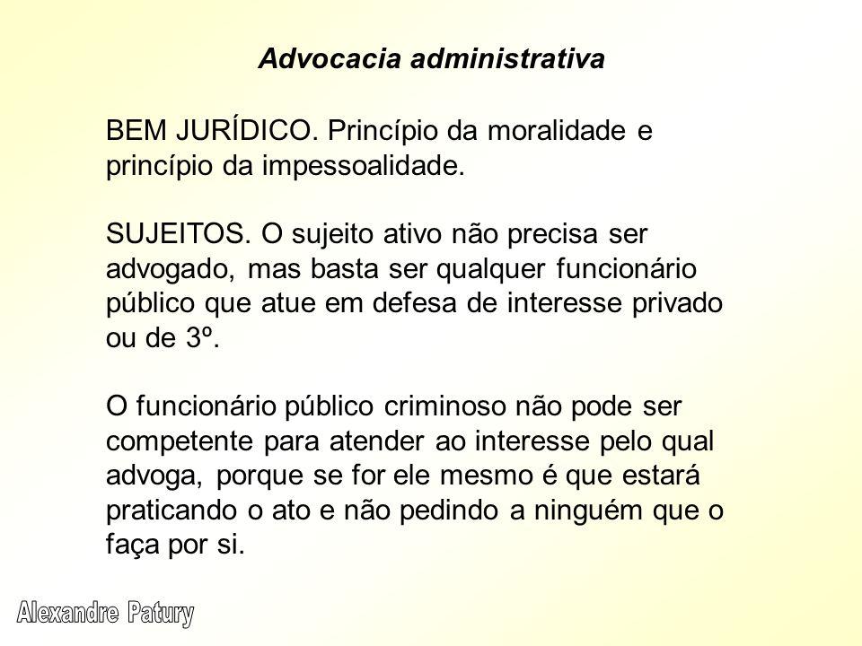 Advocacia administrativa