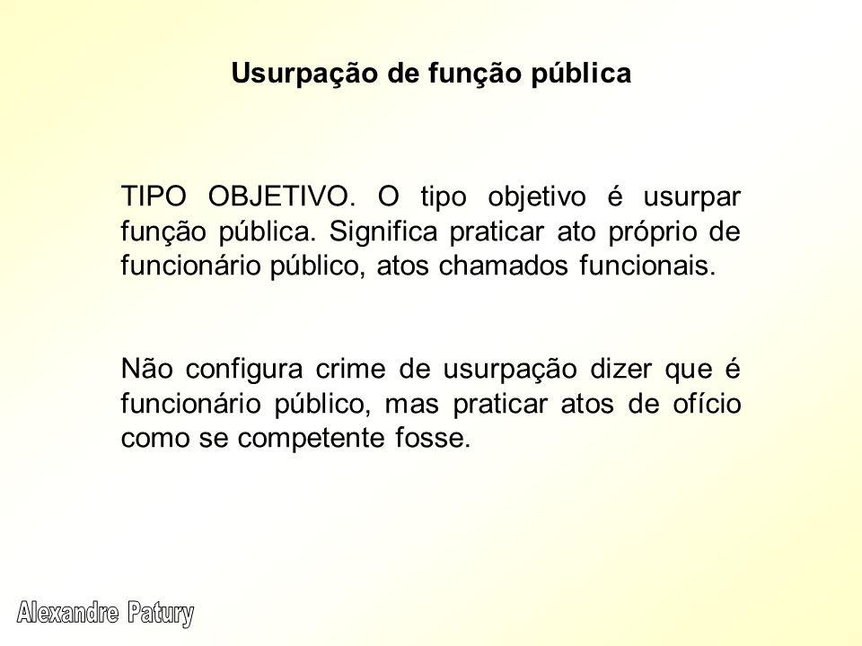 Usurpação de função pública