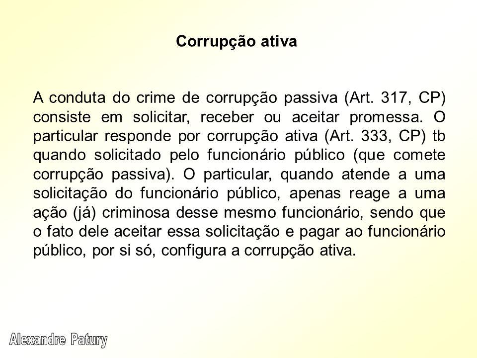 Corrupção ativa