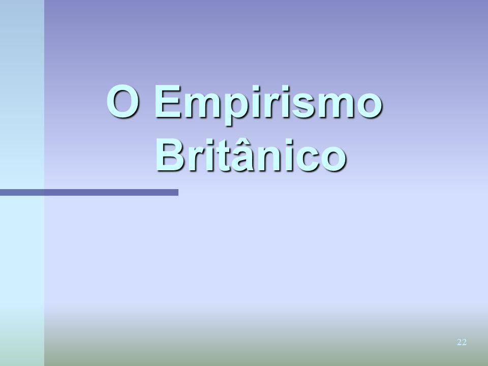 O Empirismo Britânico