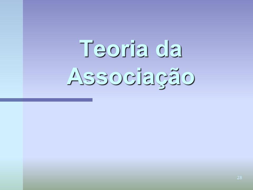 Teoria da Associação