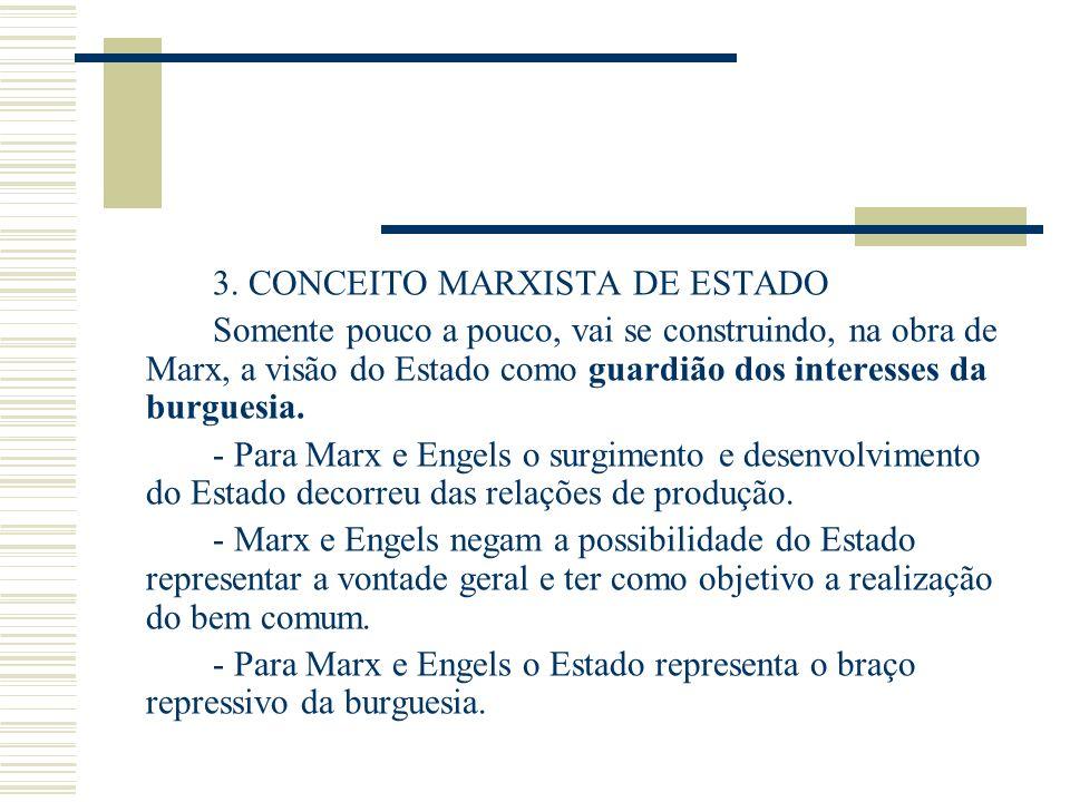 3. CONCEITO MARXISTA DE ESTADO