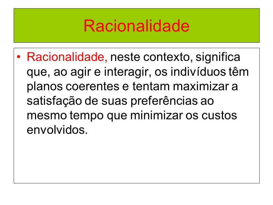 Racionalidade