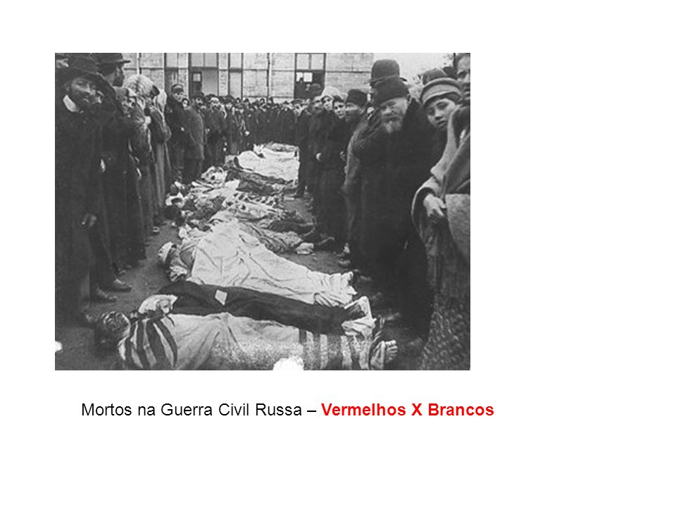 Mortos na Guerra Civil Russa – Vermelhos X Brancos