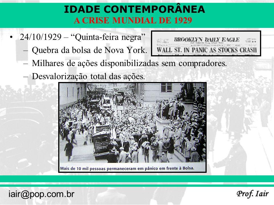 24/10/1929 – Quinta-feira negra