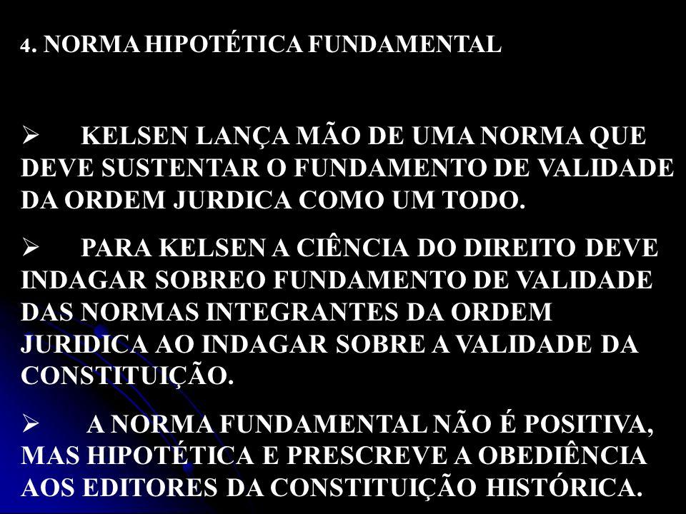 4. NORMA HIPOTÉTICA FUNDAMENTAL