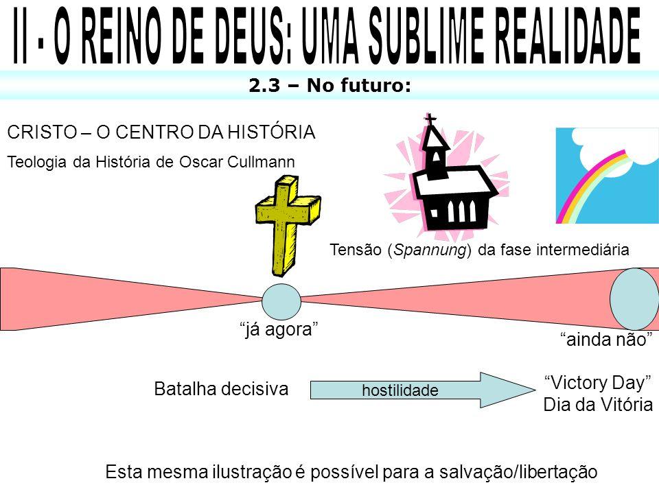 II - O REINO DE DEUS: UMA SUBLIME REALIDADE