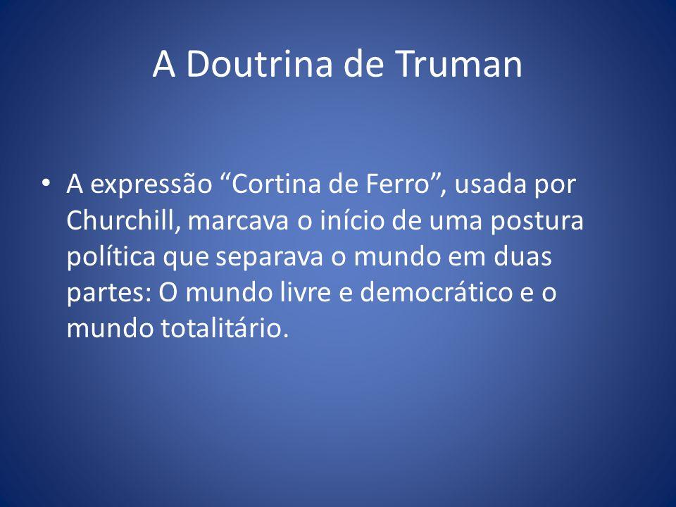 A Doutrina de Truman