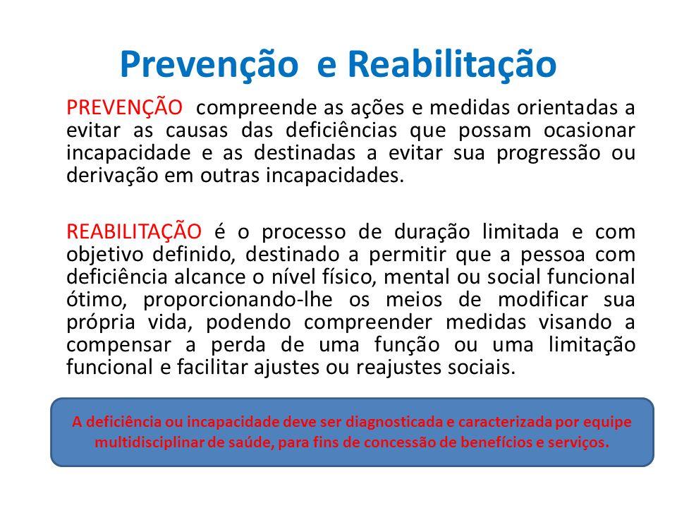 Prevenção e Reabilitação