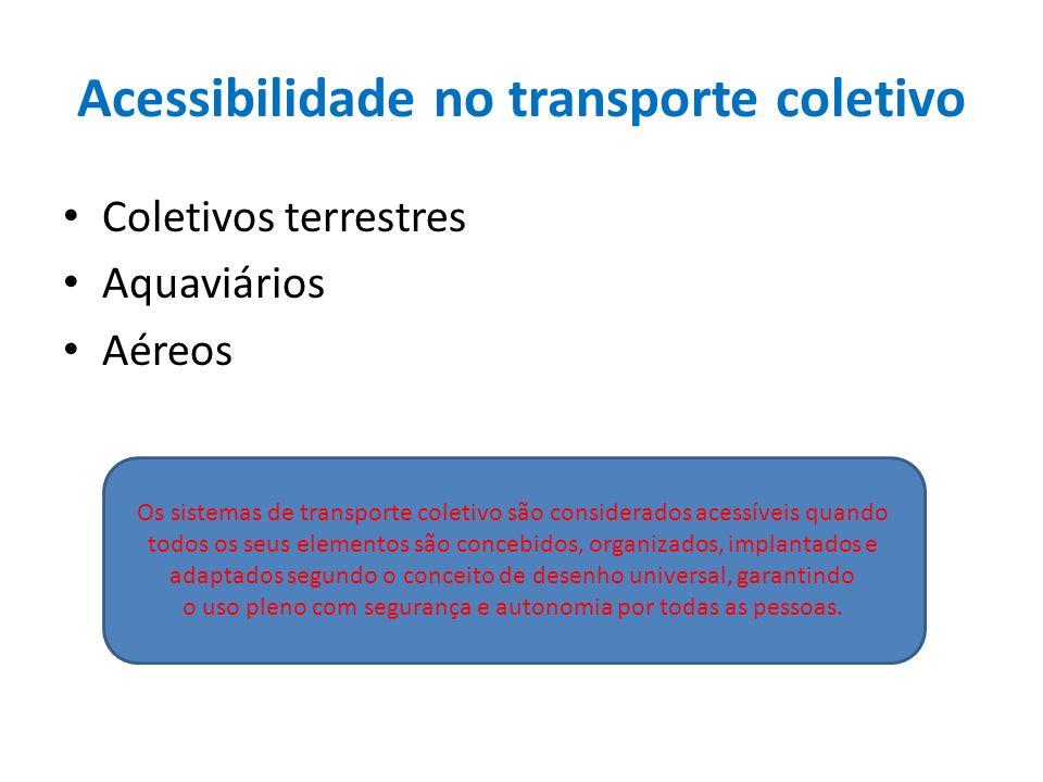 Acessibilidade no transporte coletivo