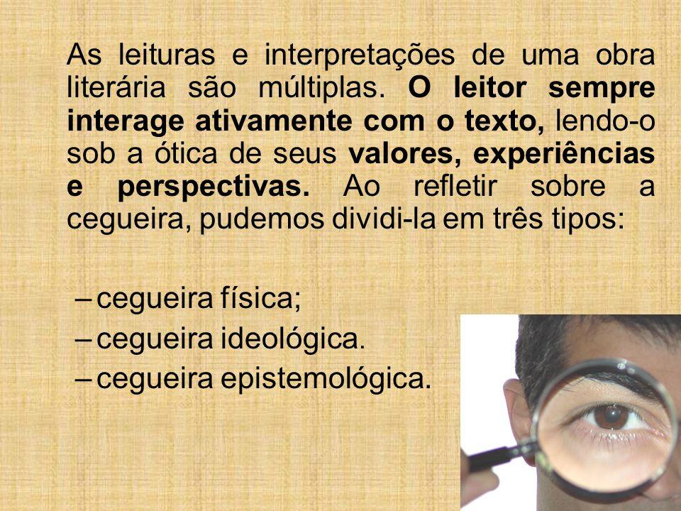 cegueira epistemológica.