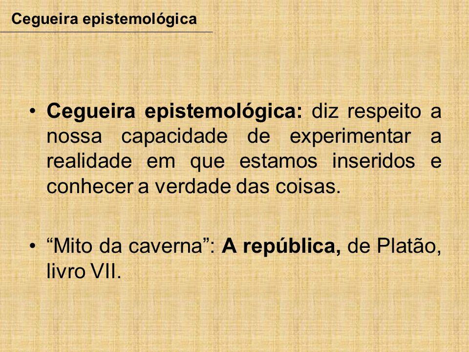 Cegueira epistemológica