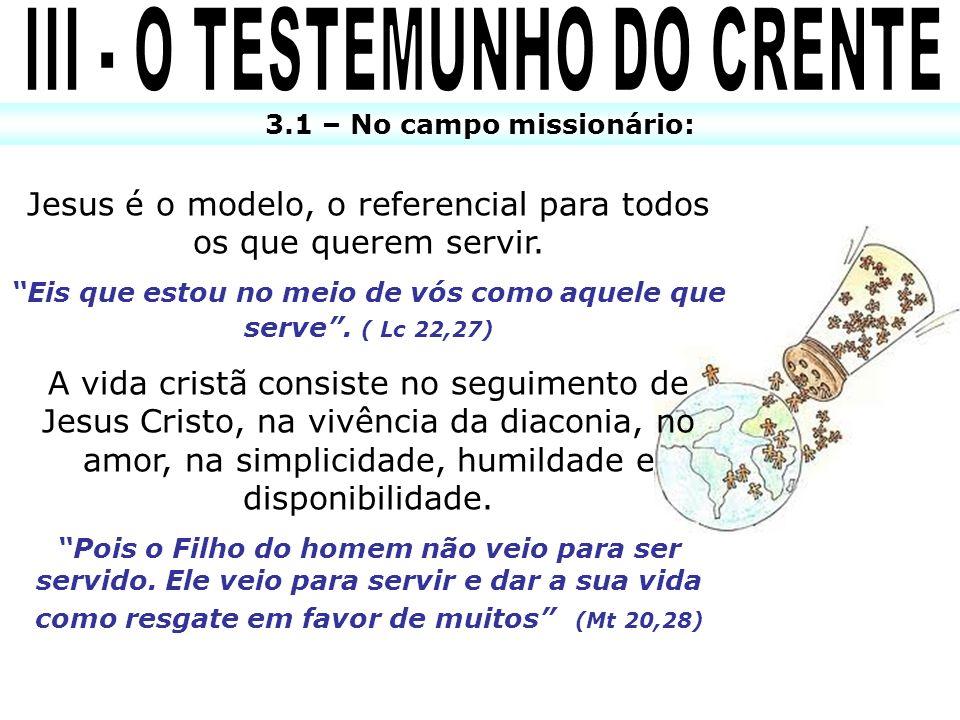 III - O TESTEMUNHO DO CRENTE
