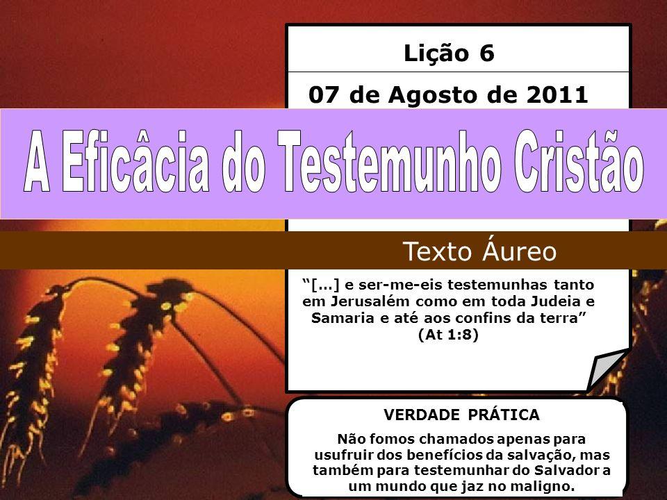 A Eficâcia do Testemunho Cristão