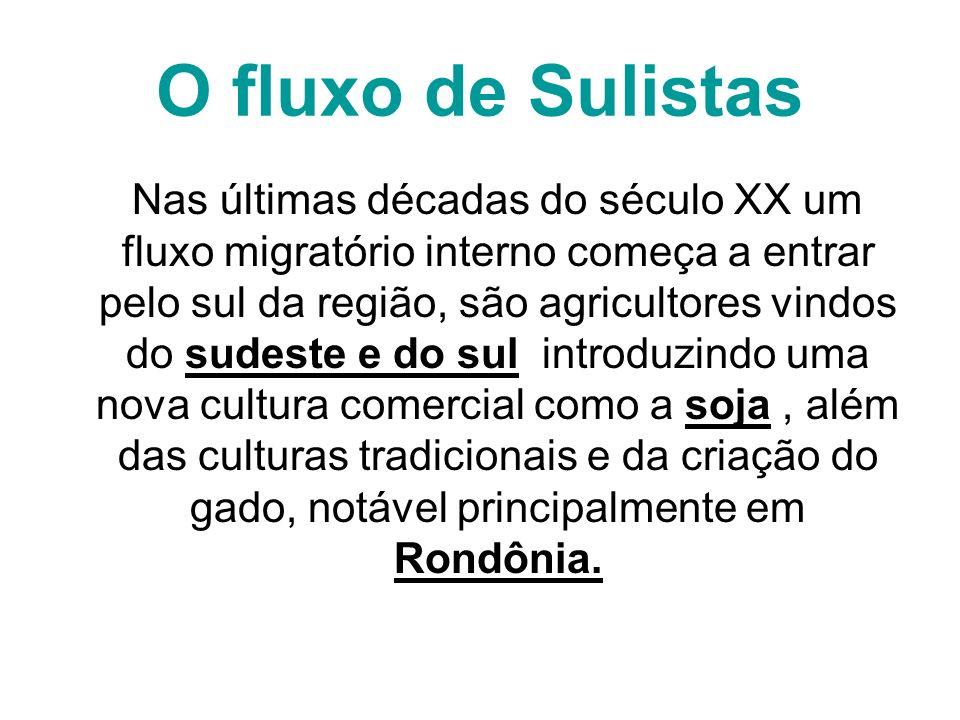 O fluxo de Sulistas