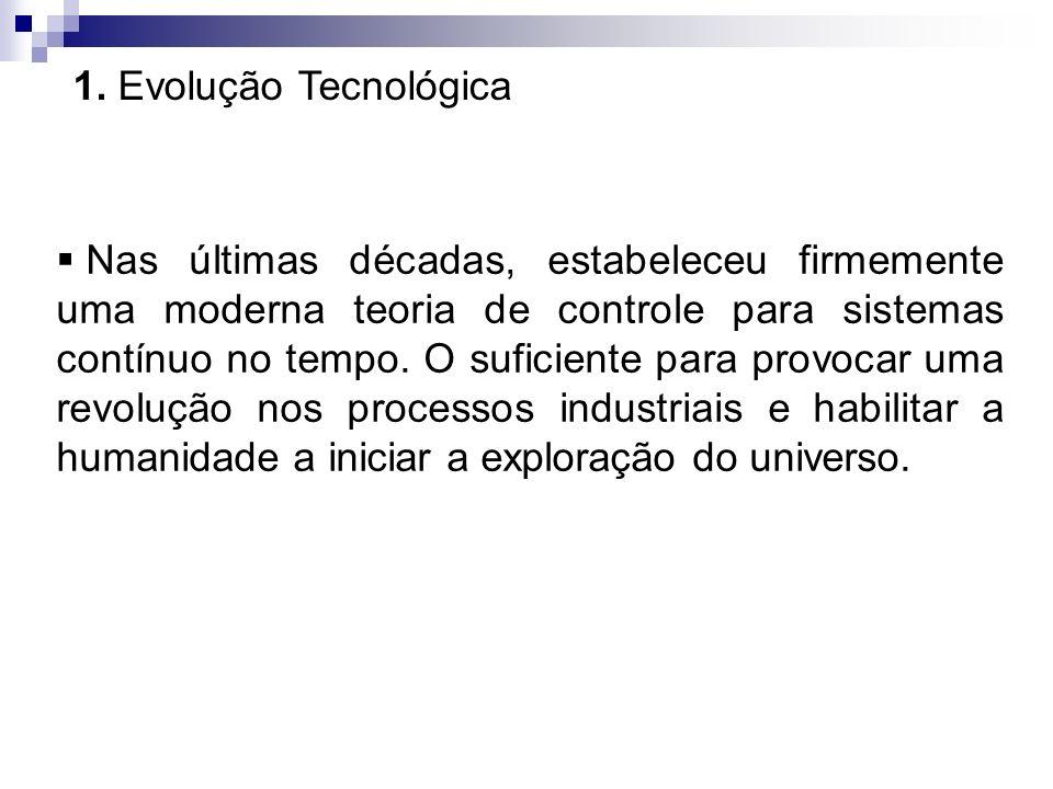 1. Evolução Tecnológica