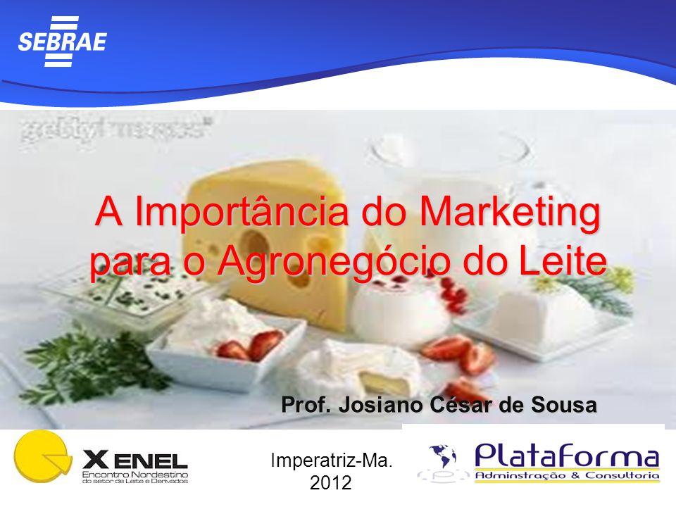 A Importância do Marketing para o Agronegócio do Leite