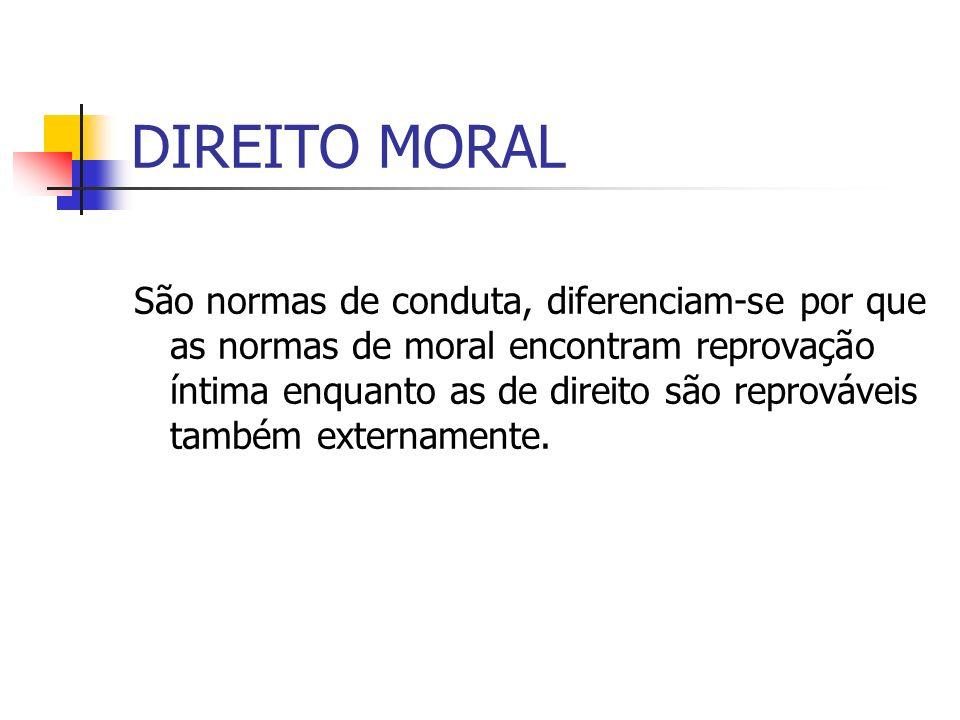 DIREITO MORAL