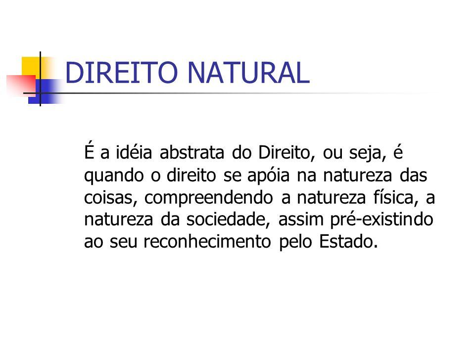DIREITO NATURAL