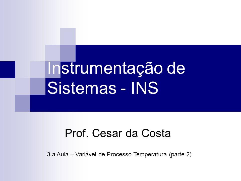 Instrumentação de Sistemas - INS