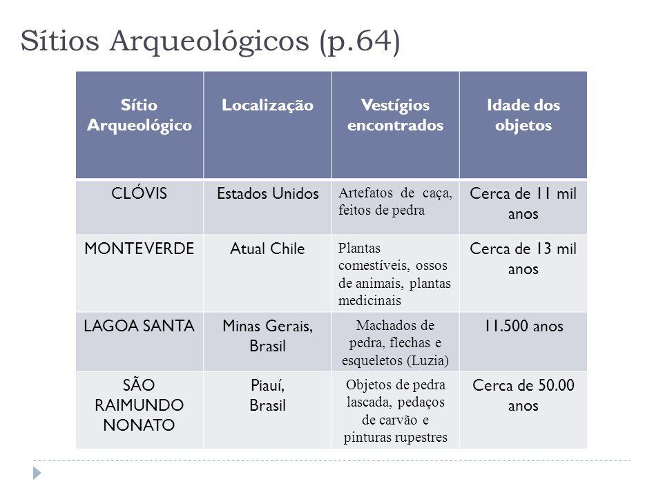 Sítios Arqueológicos (p.64)