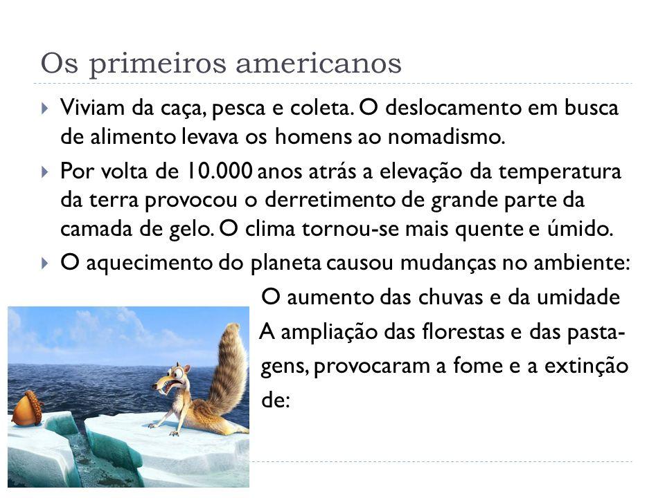 Os primeiros americanos