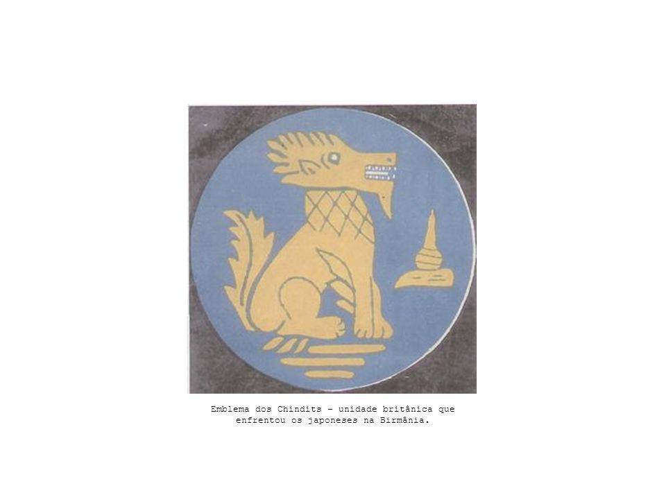 Emblema dos Chindits – unidade britânica que enfrentou os japoneses na Birmânia.
