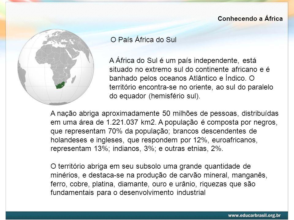 Conhecendo a ÁfricaO País África do Sul.