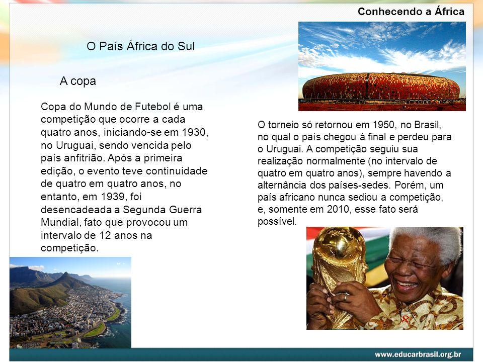 O País África do Sul A copa Conhecendo a África