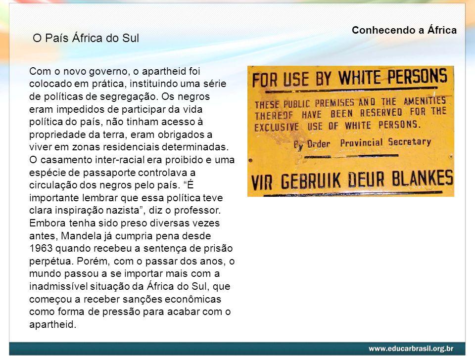 O País África do Sul Conhecendo a África