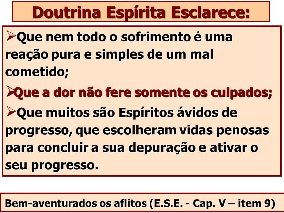 Doutrina Espírita Esclarece: