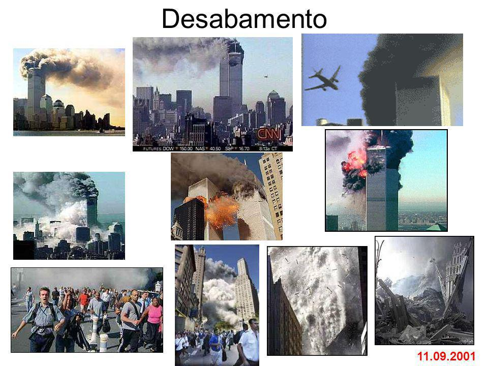 Desabamento 11.09.2001