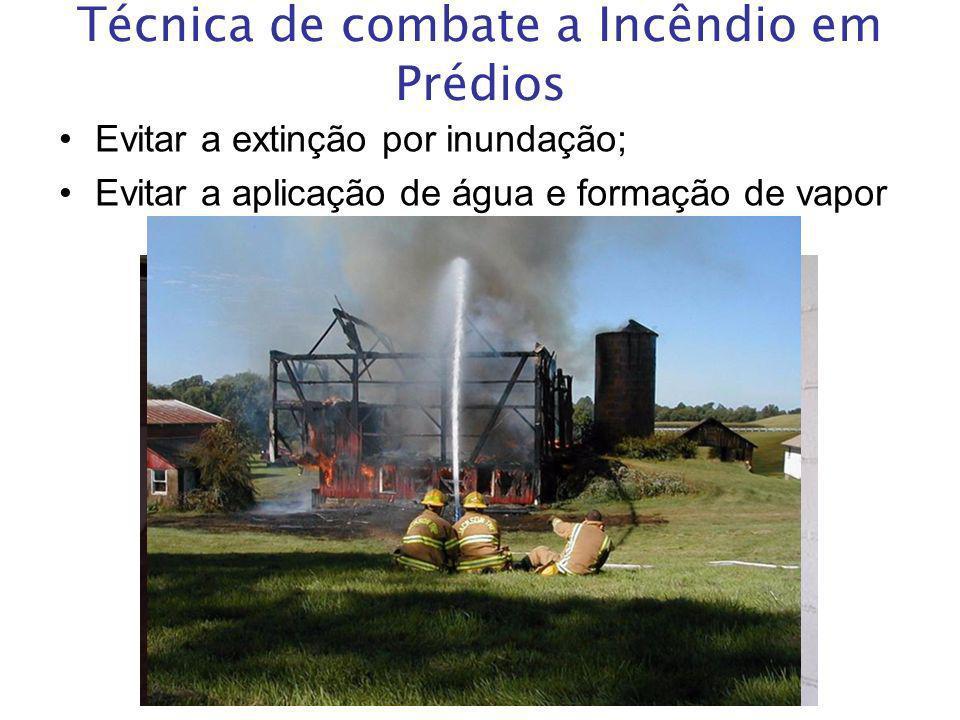 Técnica de combate a Incêndio em Prédios