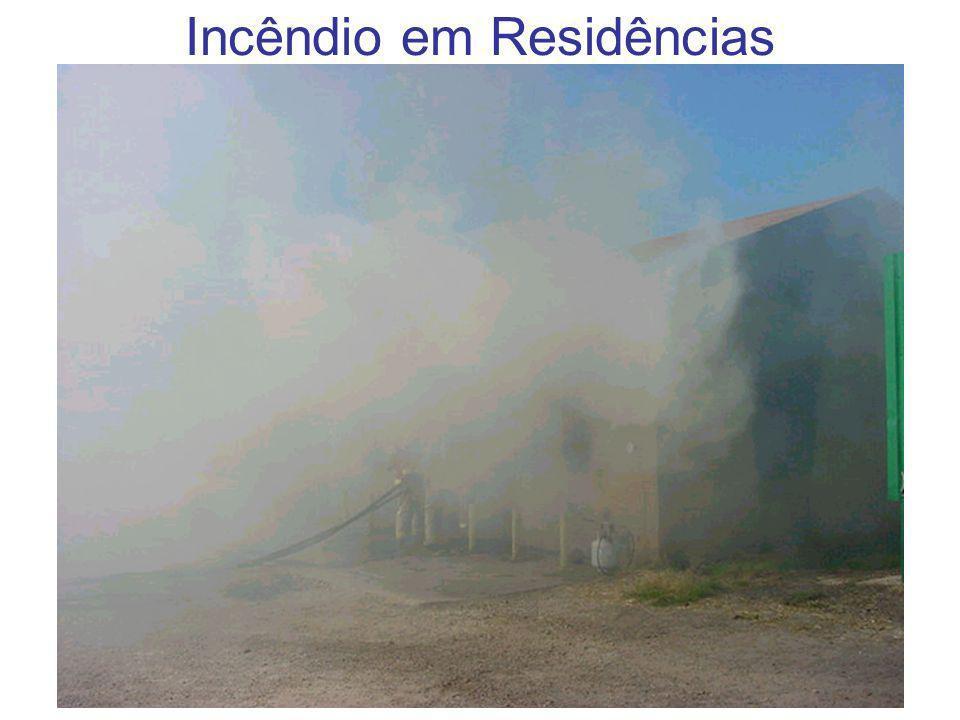 Incêndio em Residências