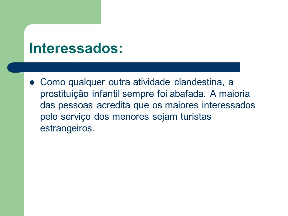 Interessados: