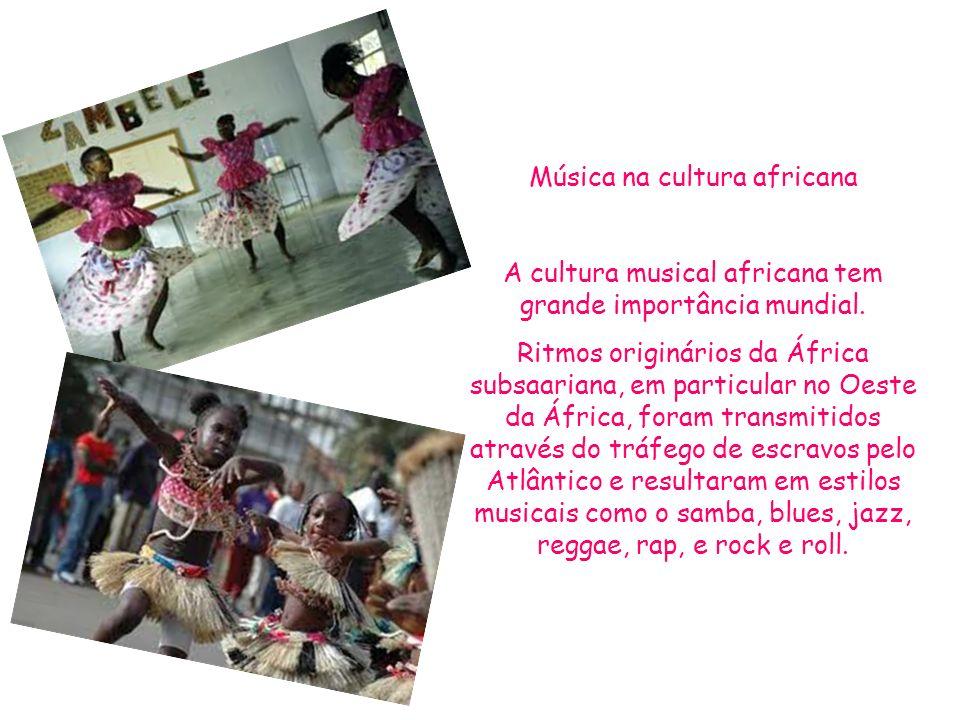 Música na cultura africana