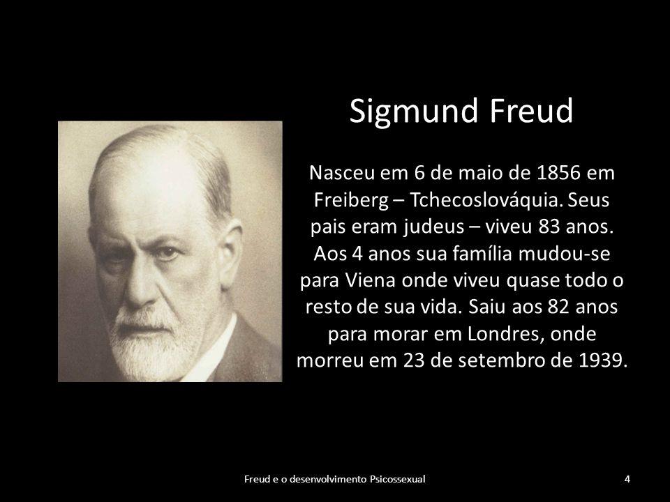 Freud e o desenvolvimento Psicossexual