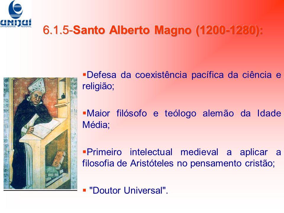 6.1.5-Santo Alberto Magno (1200-1280):