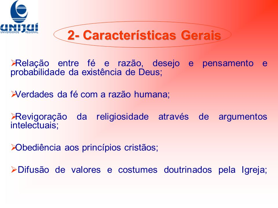 2- Características Gerais