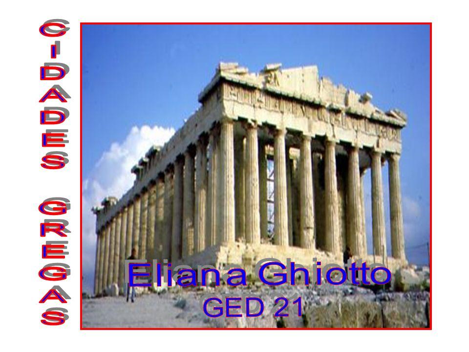 CIDADES GREGAS Eliana Ghiotto GED 21