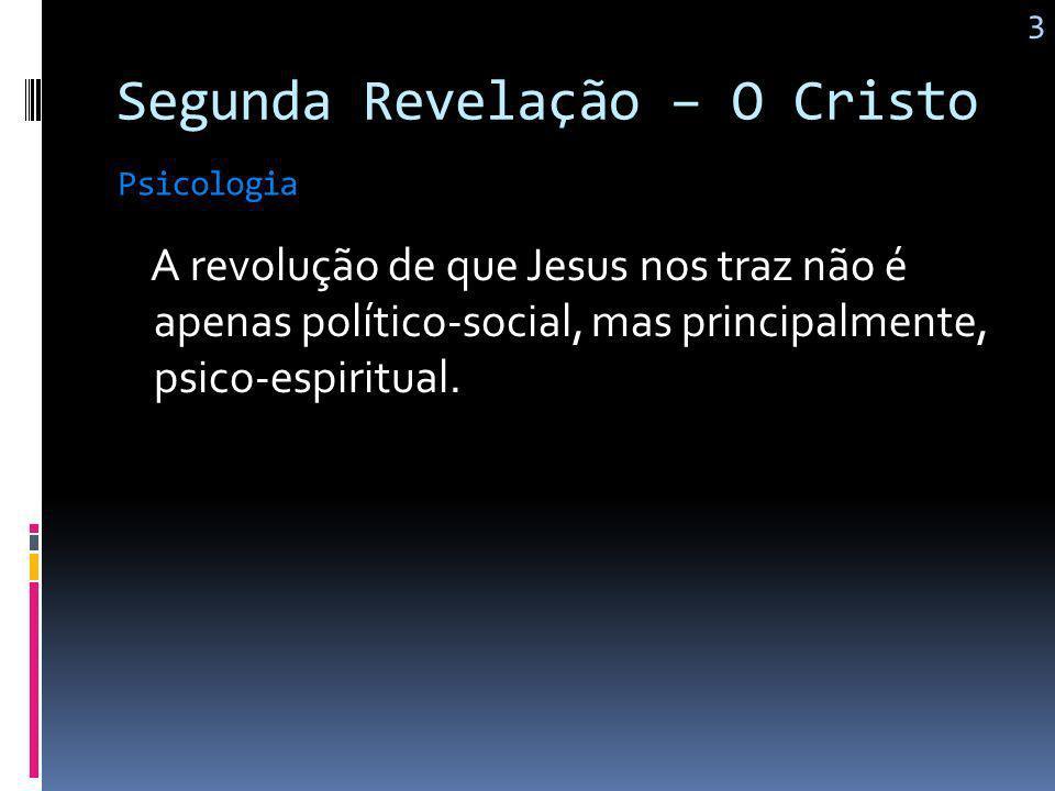 Segunda Revelação – O Cristo