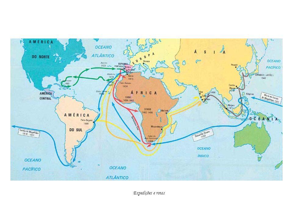 Expedições e rotas