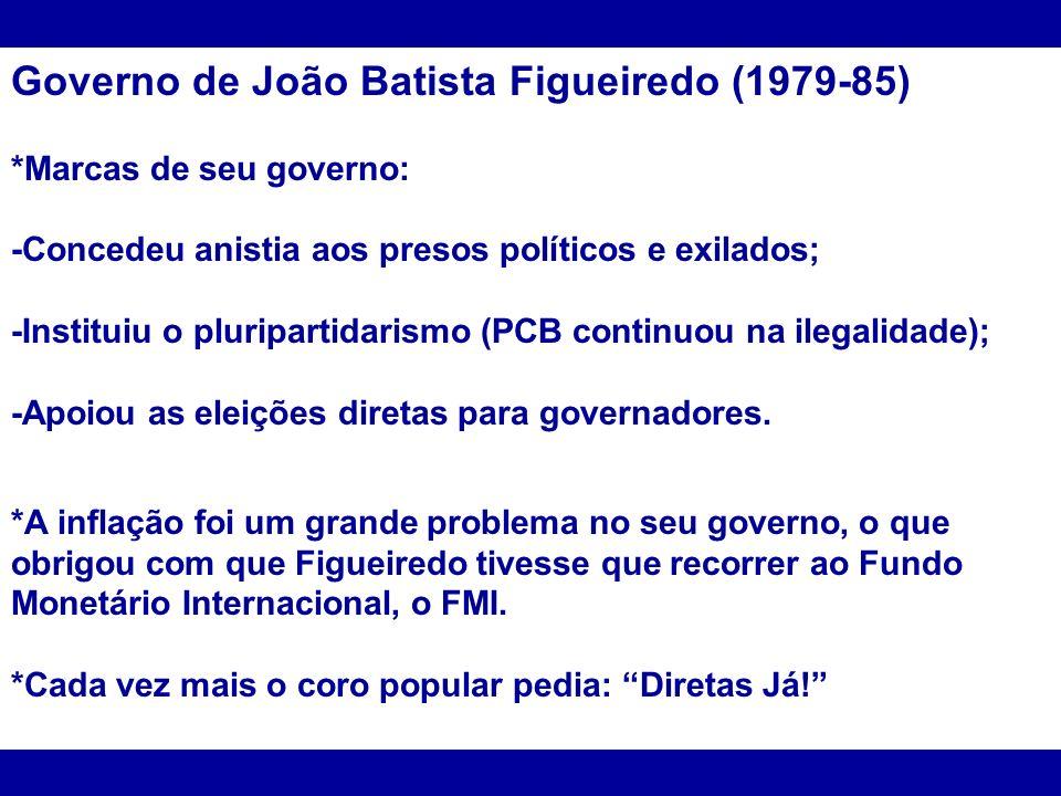 Governo de João Batista Figueiredo (1979-85)