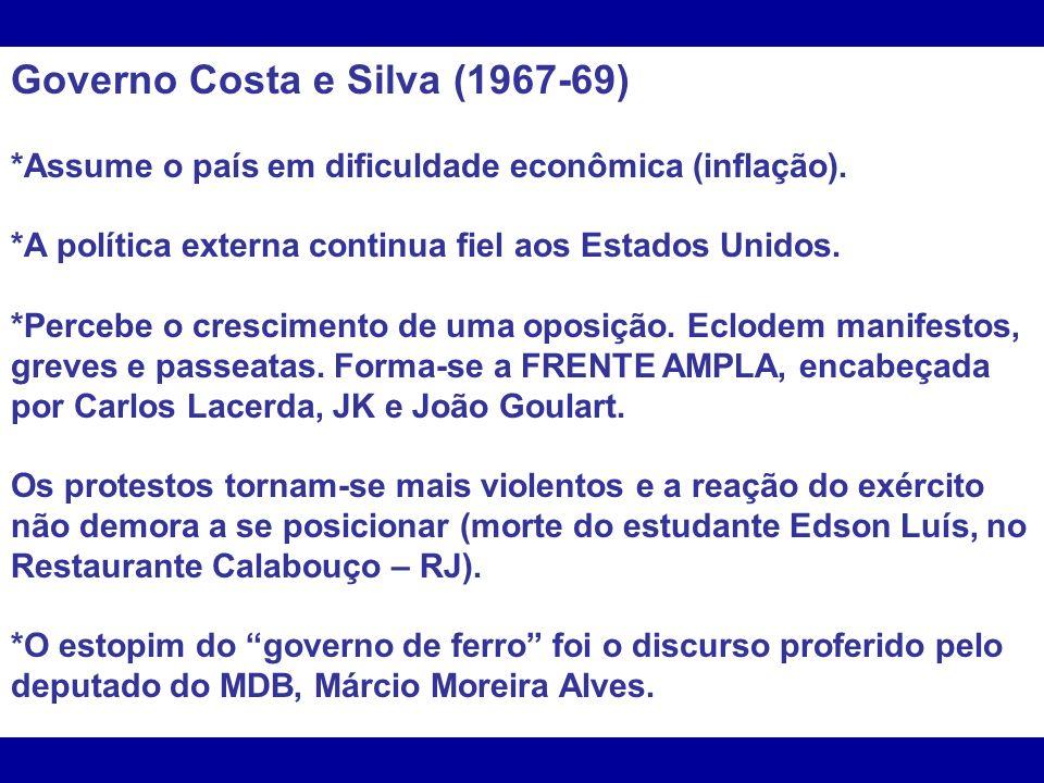 Governo Costa e Silva (1967-69)