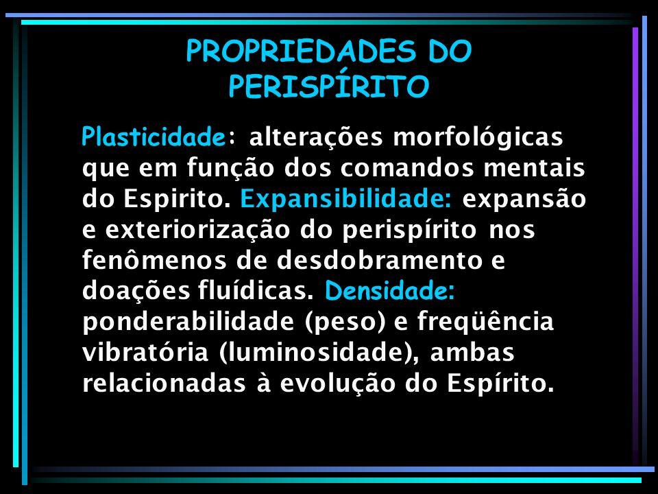 PROPRIEDADES DO PERISPÍRITO