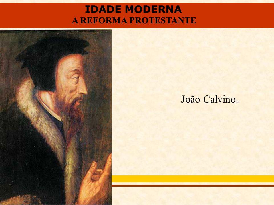 João Calvino.