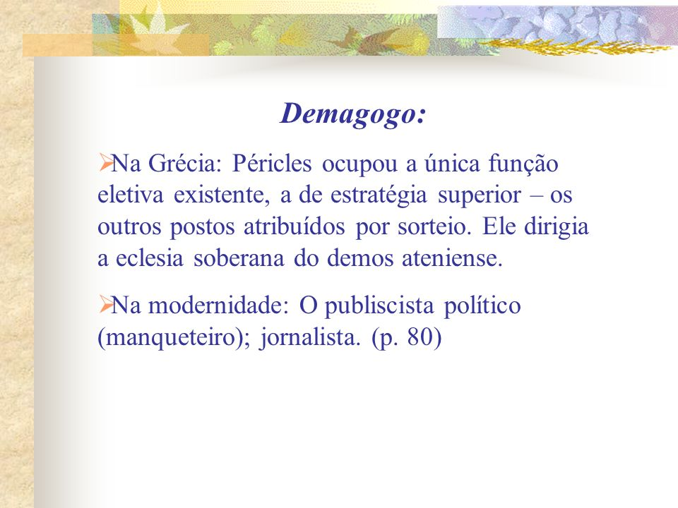 Demagogo: