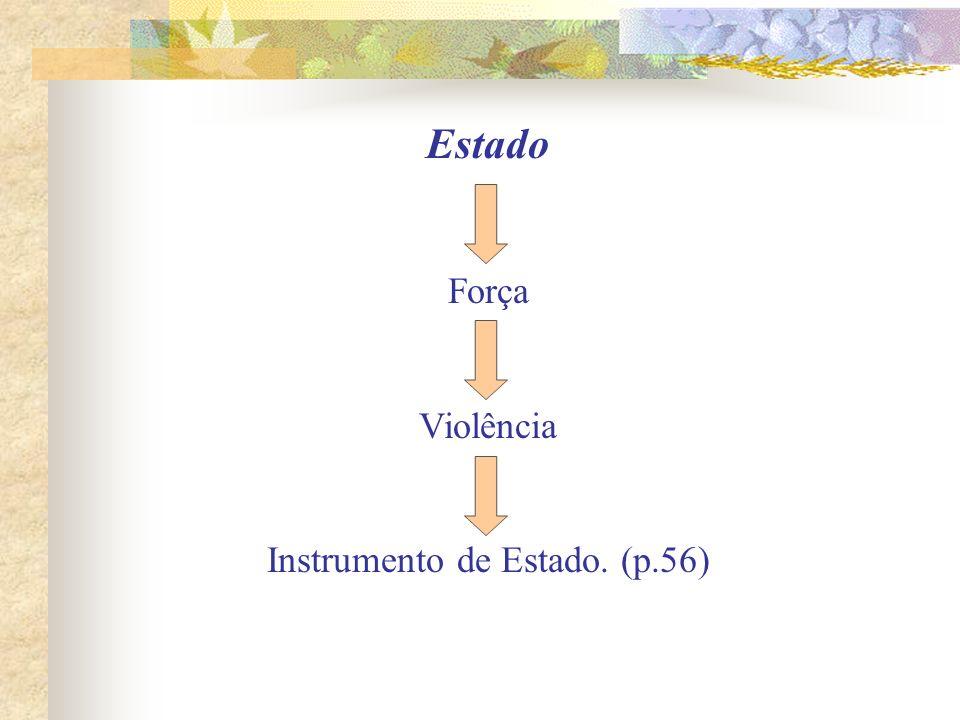 Instrumento de Estado. (p.56)
